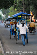Photos Cambodge Angkor - Marchands  ambulants -