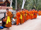 Photos Laos - Luang Prabang - Tourisme de masse mais de passage